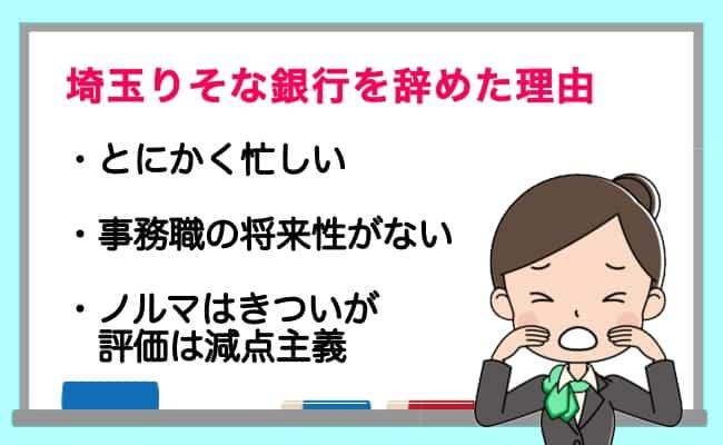 埼玉りそな銀行 ノルマ