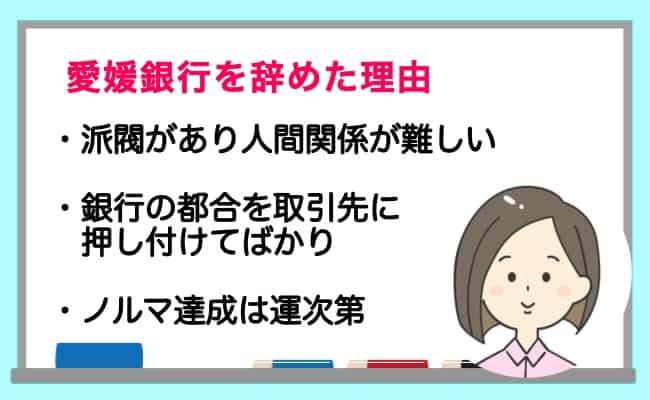 愛媛銀行 ノルマ